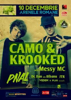CAMO & KROOKED @ arena dnb