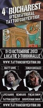 Conventia Internationala de Tatuaje 2013