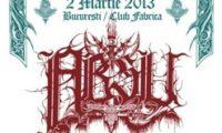 Concert Absu in Club Fabrica din Bucuresti