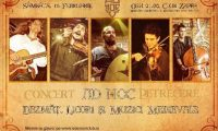 Concert Ad Hoc in Club Zappa din Bucuresti
