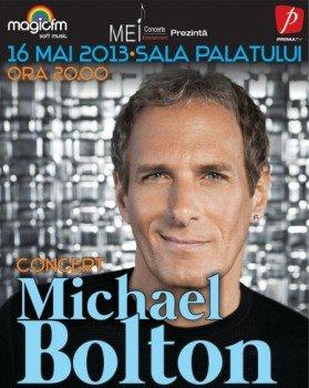Concert Michael Bolton la Sala Palatului