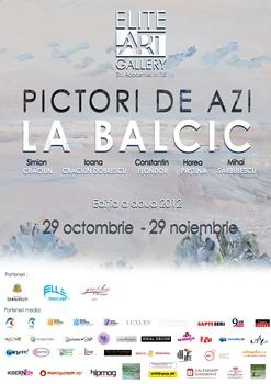 "Expozitia ""Pictori de azi la Balcic"""