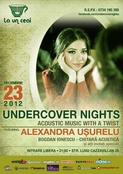 Concert Alexandra Usurelu in La un Ceai din Bucuresti