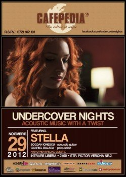 Concert Stella in Cafepedia din Bucuresti