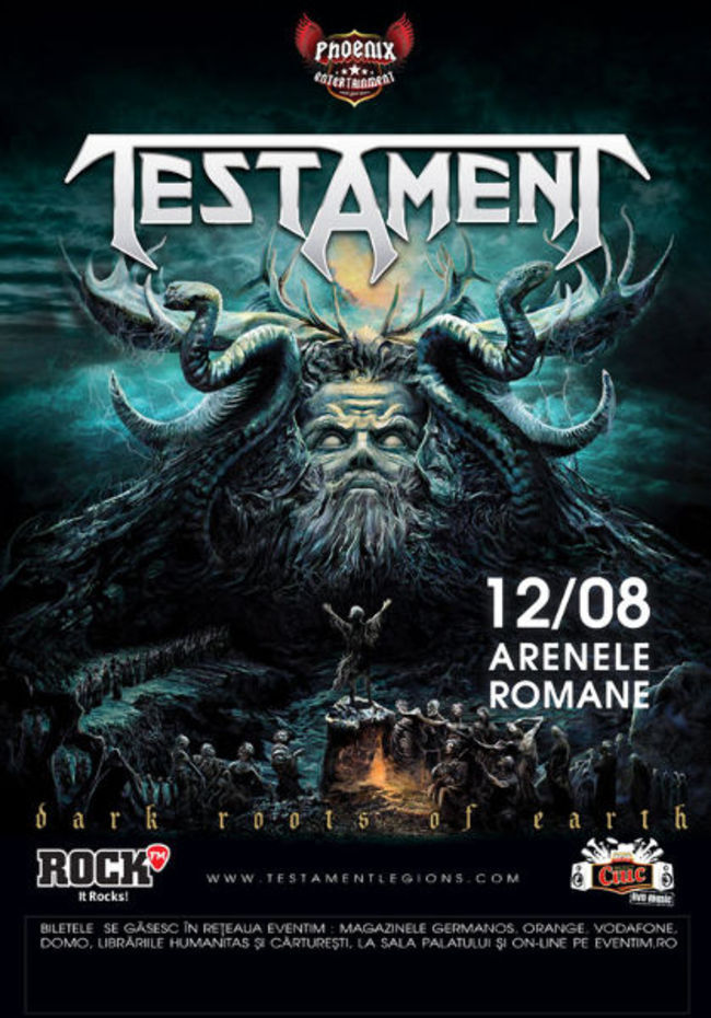 Concert Testament la Arenele Romane