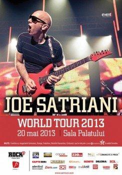 Concert Joe Satriani la Sala Palatului