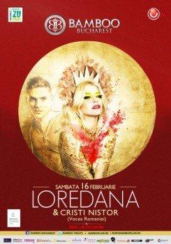 Concert Loredana si Cristi Nistor in Bamboo