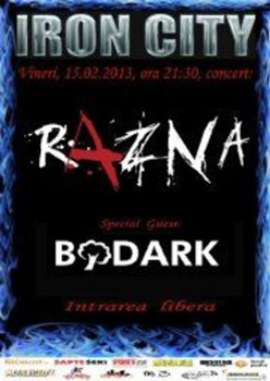 Concert Razna si Bodark in Iron City din Bucuresti