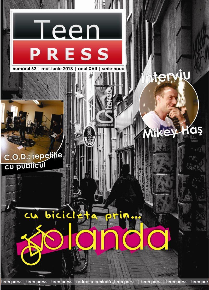 Revista TEEN PRESS - nr. 62 - iunie 2013