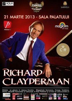 Richard Clayderman la Sala Palatului