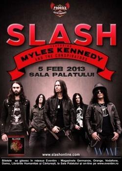 Concert Slash la Sala Palatului din Bucuresti