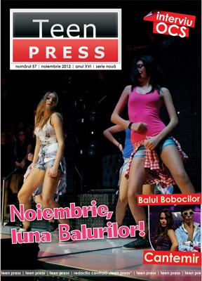 Revista de liceu - Redactia Centrala Teen Press - Balul Bobocilor