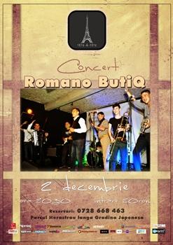 Concert Romano ButiQ la Tete-a-Tete