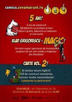 Aniversare comics.ceva.marunt in Club Mojo din Bucuresti