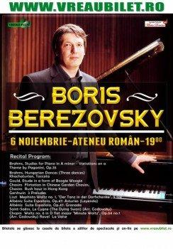 Boris Berezovski la Ateneul Roman