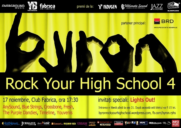 Byron Rock Your High School