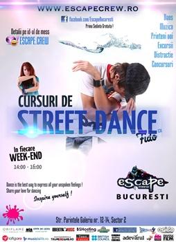 Cursuri de Street Dance la Escape Crew