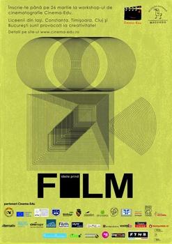 Ideile prind film la Cinema-Edu!
