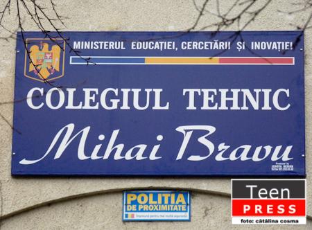 "In vizita la... Colegiul Tehnic ""Mihai Bravu"""