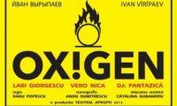 "Teatrul Apropo organizeaza un spectacol - concert marca ""Oxigen"""