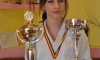 Interviu cu Diana Gijca, dubla campioana nationala la karate