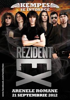 Concert si concurs Rezident Ex
