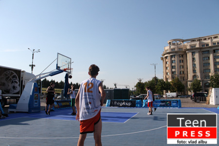 "De la Arena Streetball 2013 – ""From streets to the Olympics!"""
