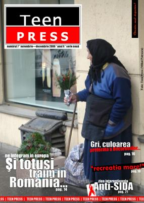 Revista de liceu Teen Press Nr. 7