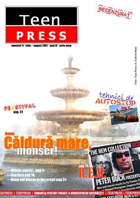 Revista de liceu Teen Press Nr 11