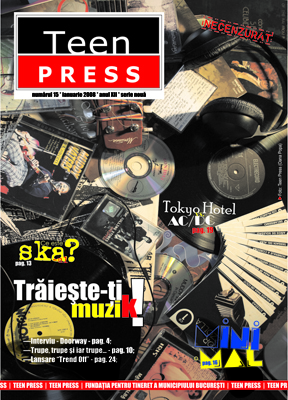 Revista Teen Press Nr 15 - Traieste muzica