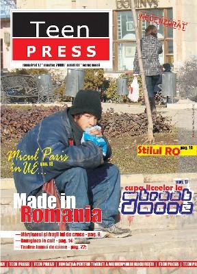 Revista de liceu Teen Press 17 Made in Romania