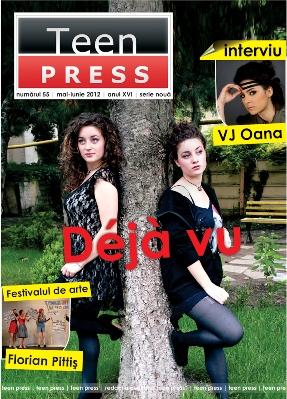 Revista de liceu Teen Press