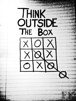 Think Outside the Box Lazar